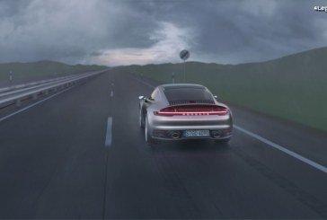 Fonctionnement du programme de conduite Wet sur la Porsche 911 type 992