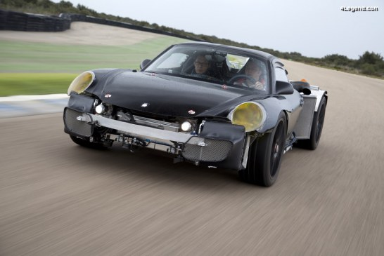 Prototype secret de la Porsche 918 Spyder de 2011 – Un mulet méconnu