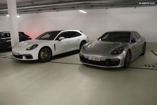 Rappel de Porsche Panamera 4 E-Hybrid & Turbo S E-Hybrid suite à des problèmes de durites de frein