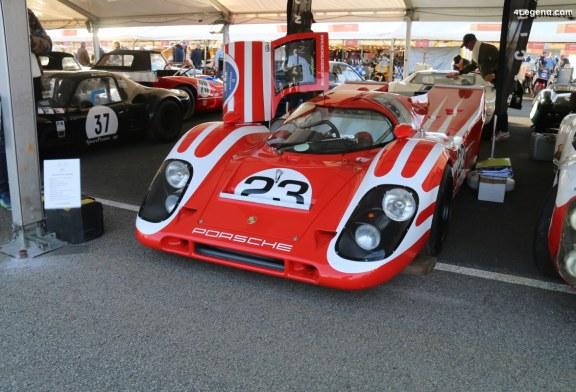 Réplique de Porsche 917 par Bailey Cars et Racing Legend Car