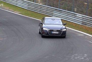 Spyshots Audi S8 D5 2019 sur le Nürburgring