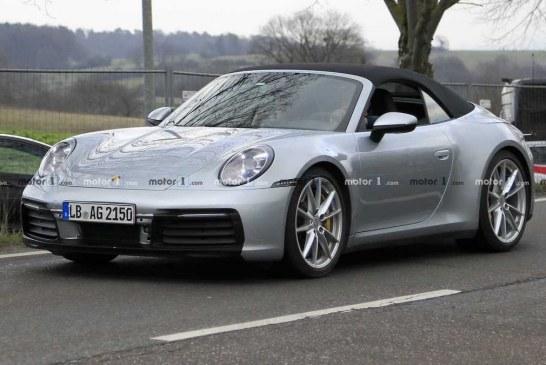 Voici la nouvelle Porsche 911 Cabriolet Type 992