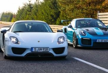Top 5 des Porsche de série les plus rapides