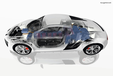 Audi F12 « e performance » - Un prototype d'Audi R8 électrique de 2012