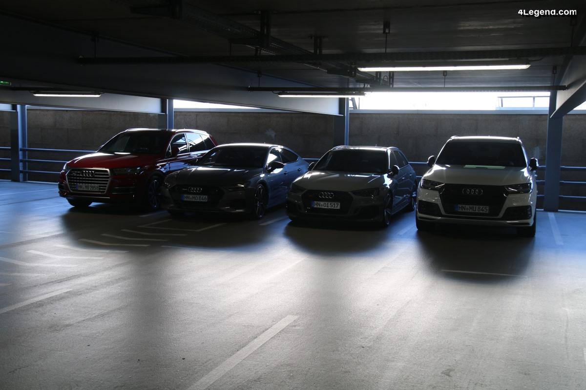 Baisse des ventes d'Audi de 3,5% en 2018 - 1 812 500 véhicules livrés
