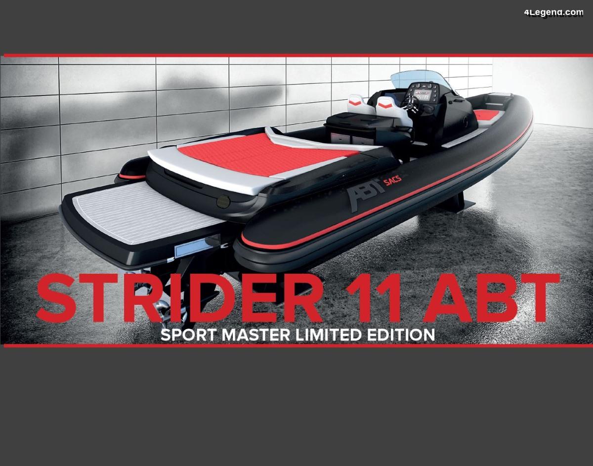 Strider 11 ABT Sport Master - Un bateau de 800 ch conçu avec SACS