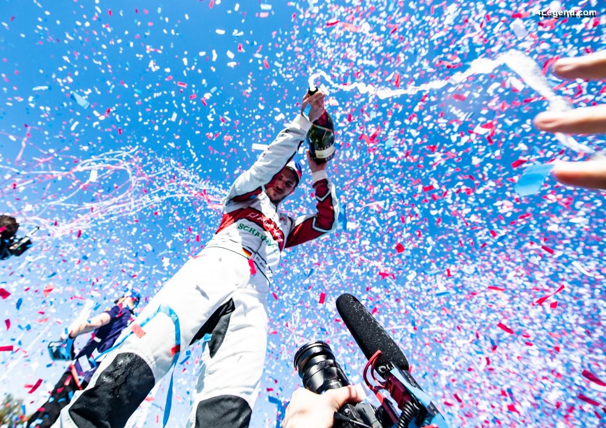 Formule E - Première victoire de l'Audi e-tron FE05 à Santiago du Chili