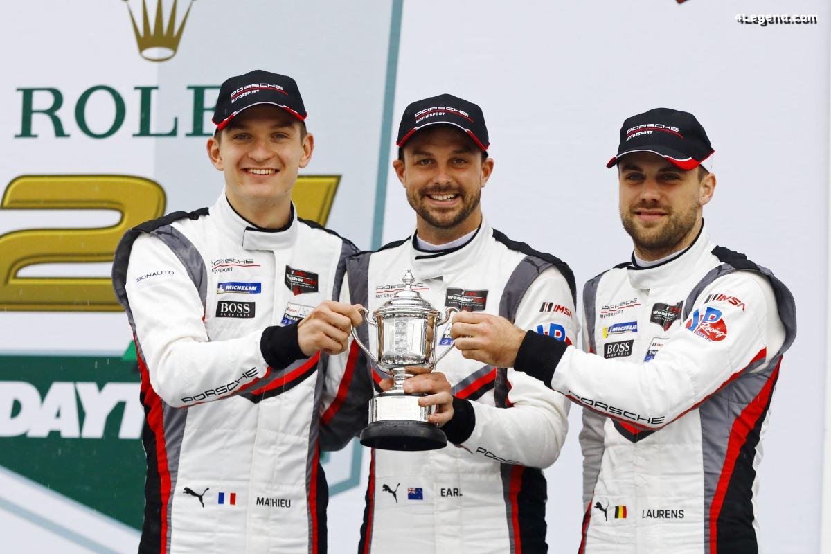 24H Daytona 2019 - Un podium pour Porsche après de gros efforts d'équipe