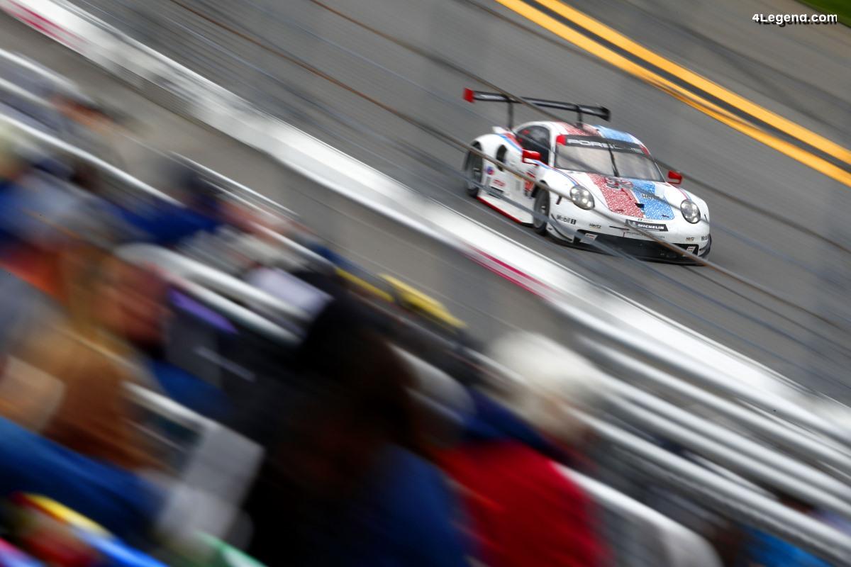 Porsche en tête des 24 Heures de Daytona 2019