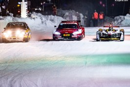 Participation remarquée d'Audi au GP Ice Race 2019
