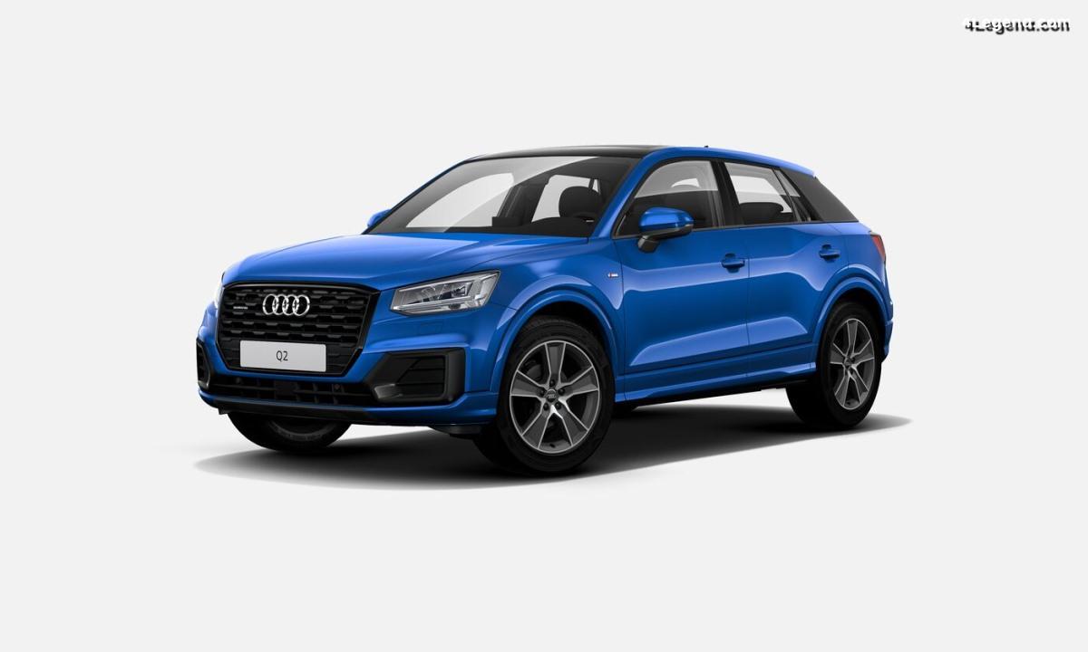 Audi Q2 Midnight Series - Une série spéciale limitée à 1 000 exemplaires