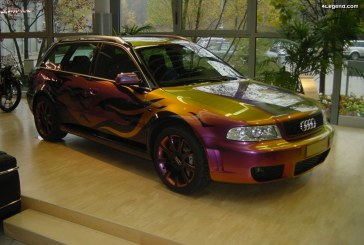 Audi RS 4 Avant B5 Art Car de 2002
