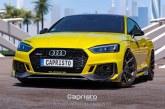 Capristo rend l'Audi RS 5 Coupé plus agressive via un kit carrosserie