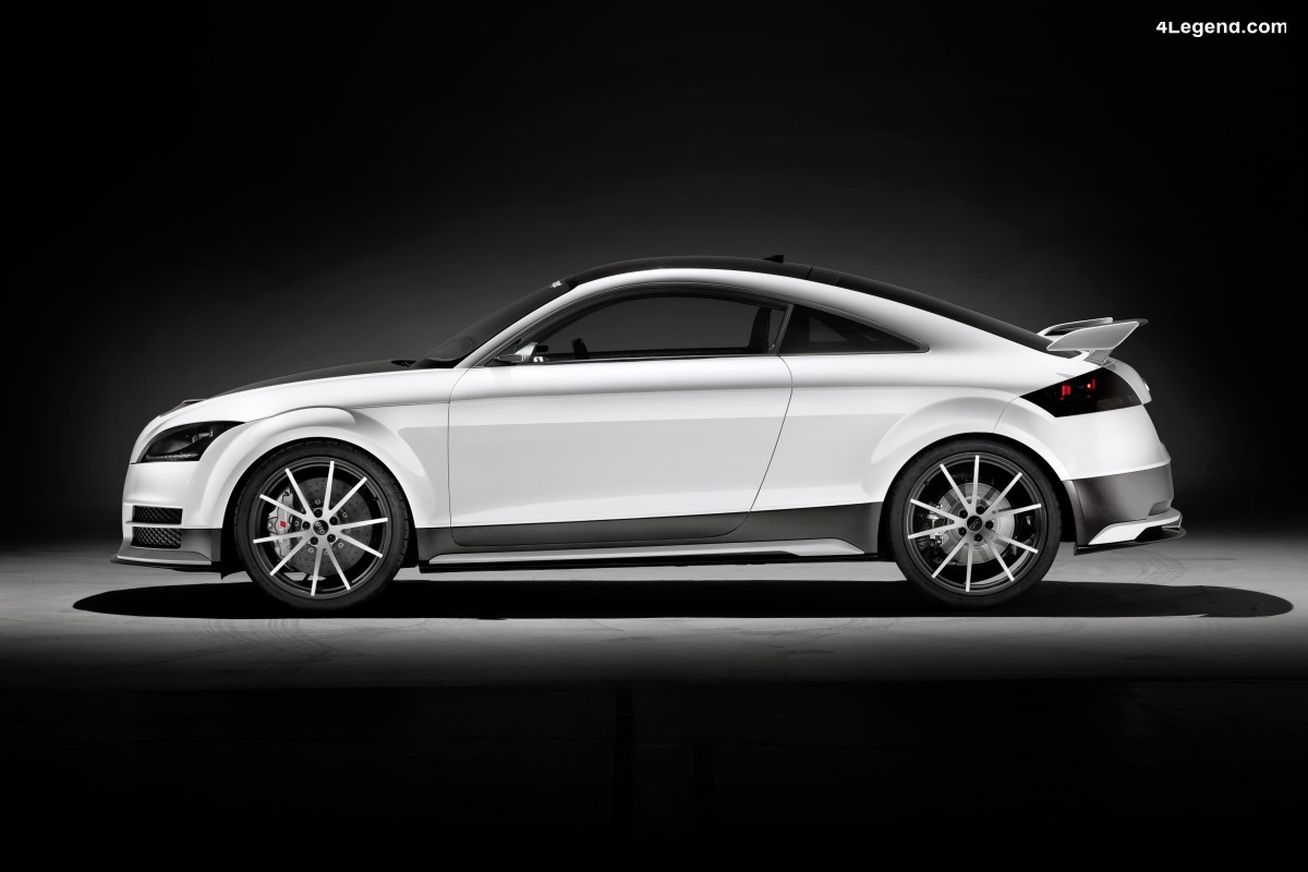 Audi TT ultra quattro concept de 2013 - Sportivité et légèreté