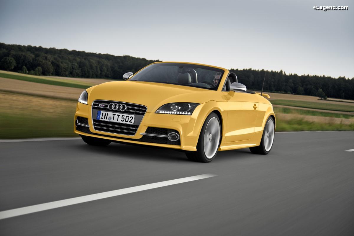 Audi TTS competition de 2013 - Une édition limitée de 500 exemplaires
