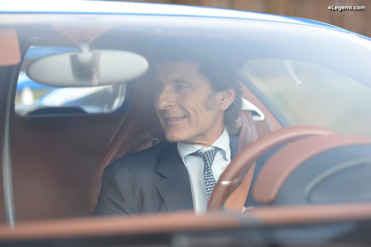 Rétrospective annuelle de Stephan Winkelmann, PDG de Bugatti