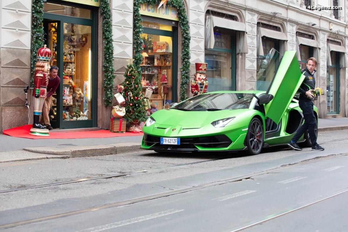 Record d'audience sur les réseaux sociaux pour la campagne Lamborghini