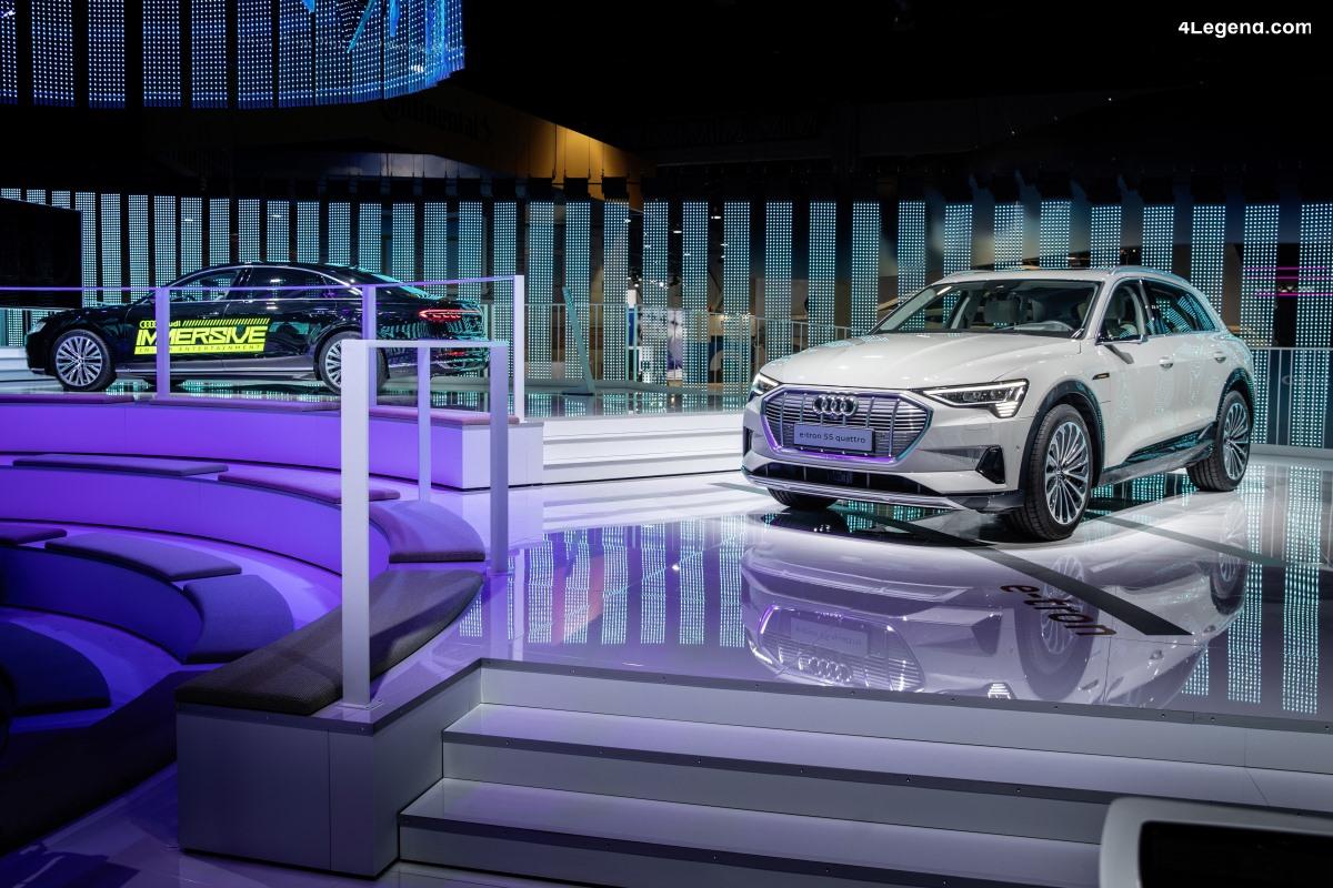 CES 2019 - Présence remarquée d'Audi offrant une nouvelle expérience de conduite
