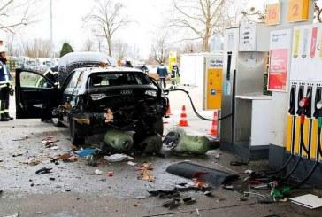 Éclatement d'une Audi A3 g-tron en Allemagne – 1 blessé grave