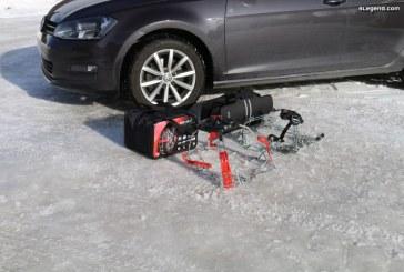 Essais comparatifs des chaînes à neige Polaire Steel Grip V2 et König K-Summit