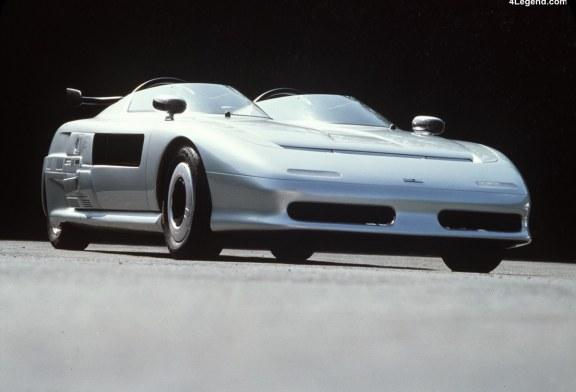 Italdesign Aztec de 1988 – Un concept car futuriste à moteur Audi produit à 15 exemplaires