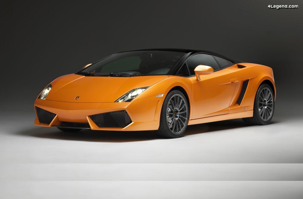 Lamborghini Gallardo LP 560-4 Bicolore de 2011 - Une édition spéciale à carrosserie bi-ton