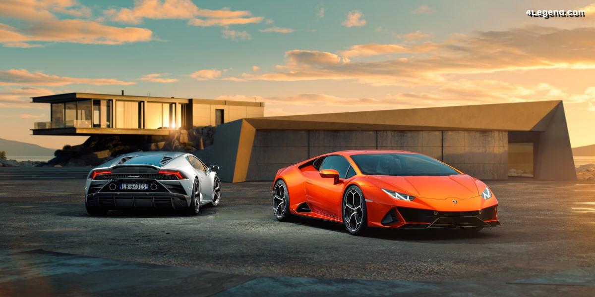 Lamborghini Huracán EVO - Plus de technologies pour une meilleure conduite