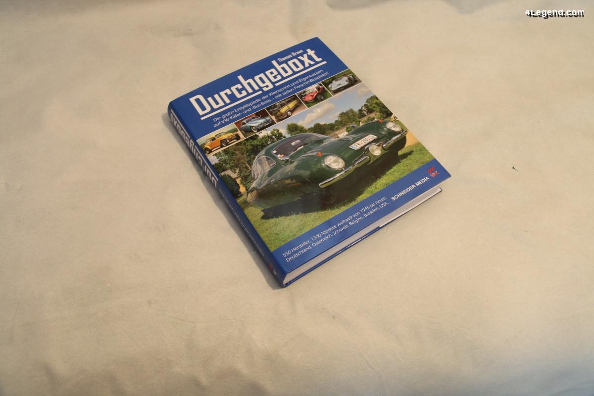 Livre Durchgeboxt (VW - Porsche) de Thomas Braun - Schneider Media