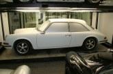 Porsche 915 Pininfarina en bois de 1969