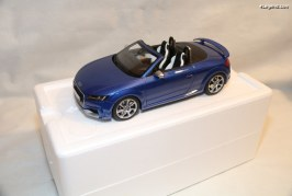 Miniature Audi TT RS Roadster au 1/18 – GT Spirit