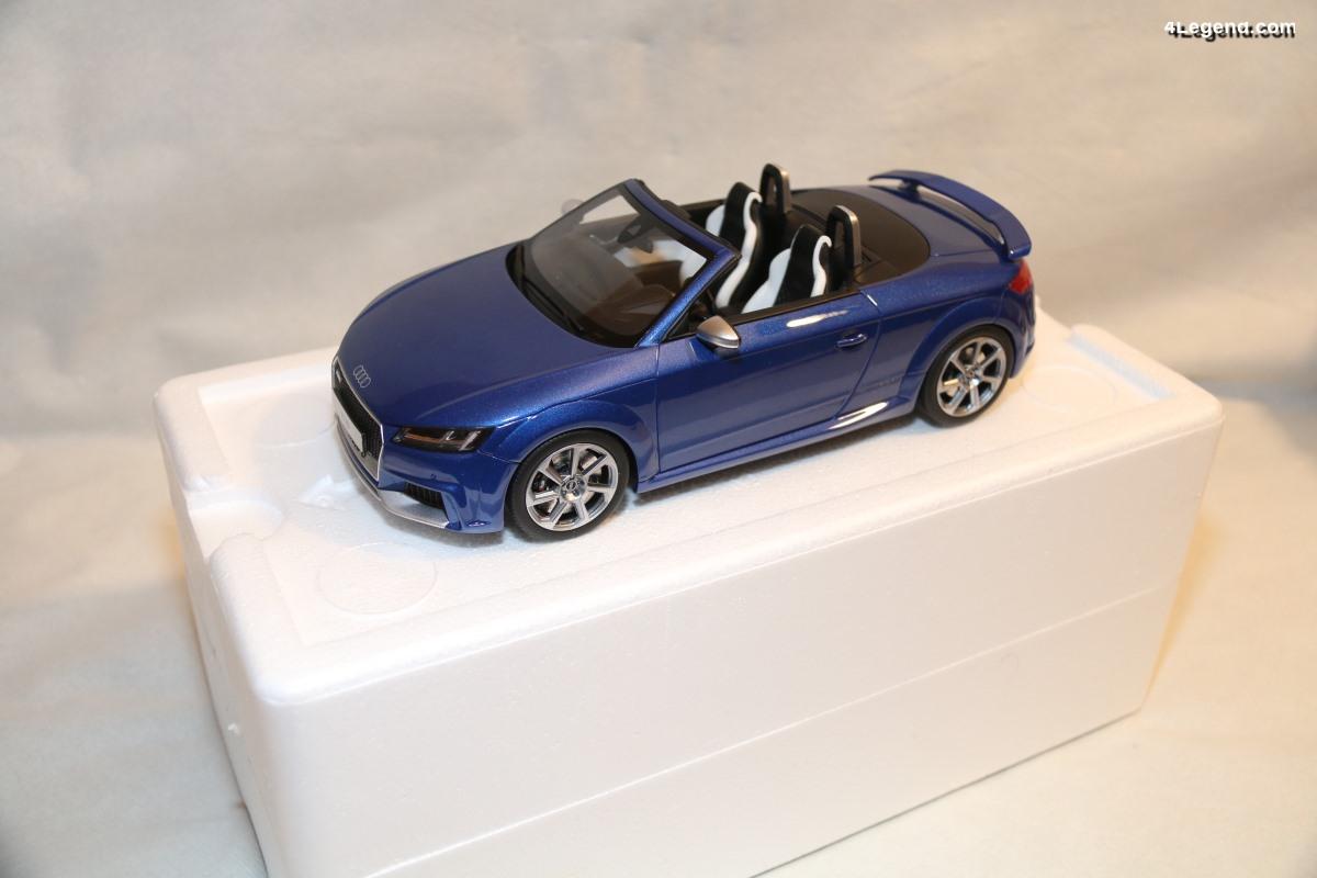 Miniature Audi TT RS Roadster au 1/18 - GT Spirit