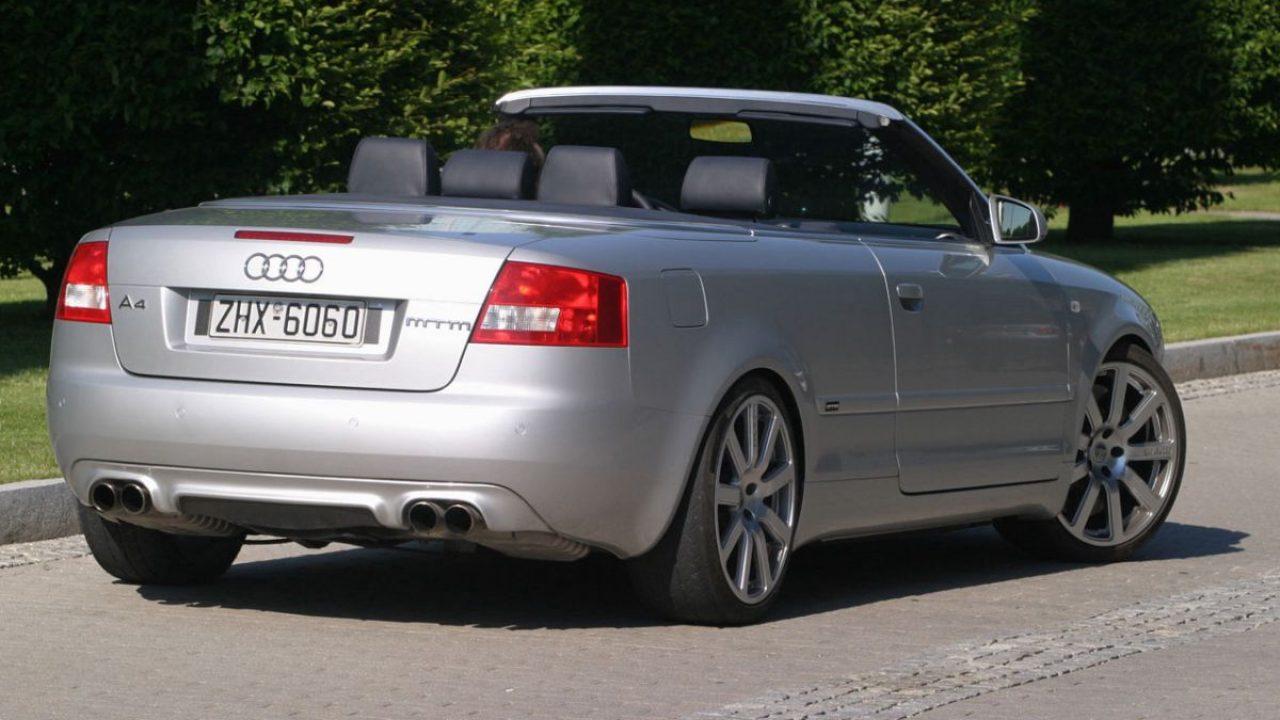 Audi A4 Cabriolet Mtm Bt 500 De 2003 500 Ch Via Le Moteur V6 Biturbo De L Audi Rs 4 B5 4legend Com Audipassion Com