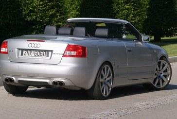 Audi A4 Cabriolet MTM BT 500 de 2003 – 500 ch via le moteur V6 biturbo de l'Audi RS 4 B5