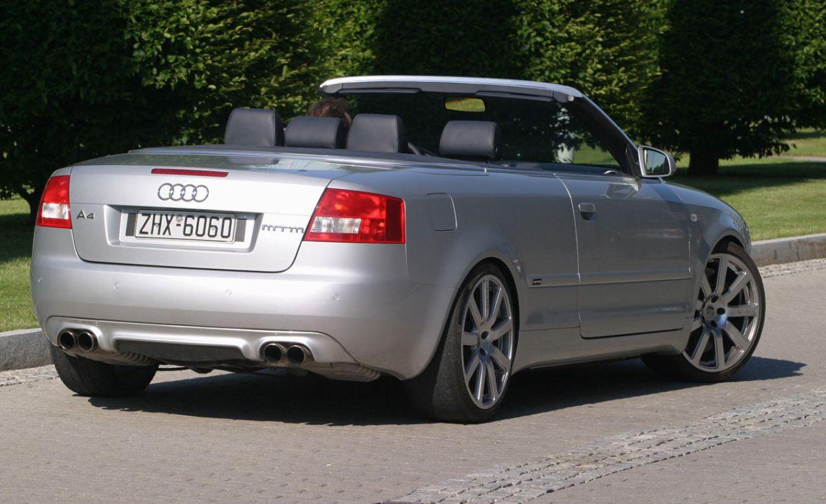 Audi A4 Cabriolet MTM BT 500 de 2003 - 500 ch via le moteur V6 biturbo de l'Audi RS 4 B5