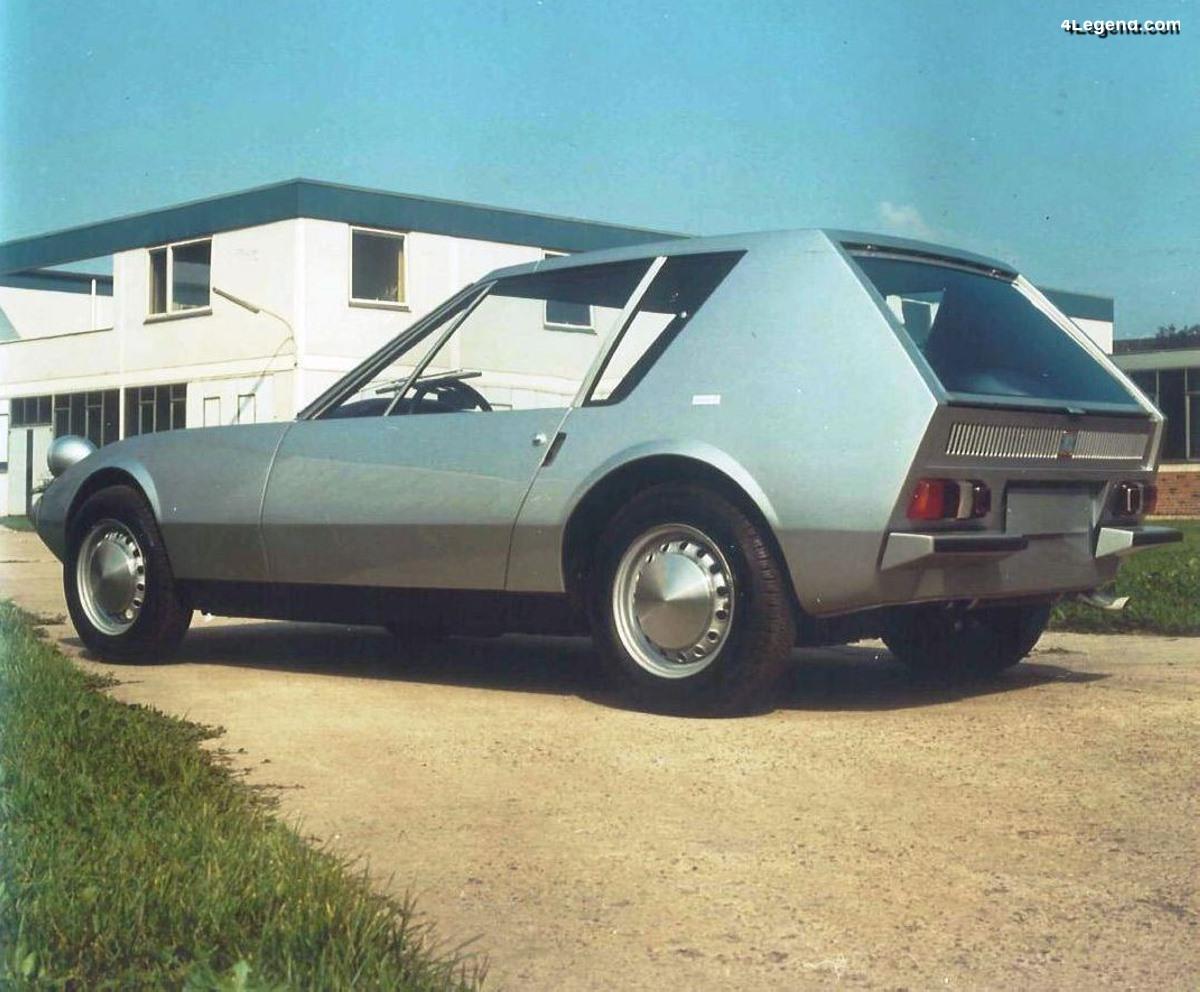 NSU Autonova GT de 1965 - Un concept novateur