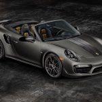 Porsche 911 Turbo S Cabriolet Exclusive Series – 200 exemplaires pour les USA