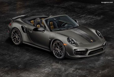 Porsche 911 Turbo S Cabriolet Exclusive Series – 200 exemplaires pour les USA