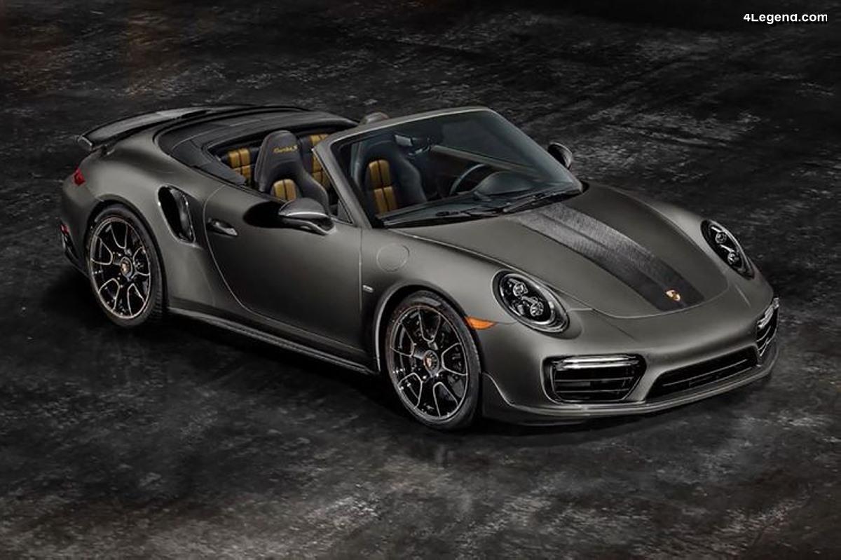 porsche 911 turbo s cabriolet exclusive series 200 exemplaires pour les usa. Black Bedroom Furniture Sets. Home Design Ideas