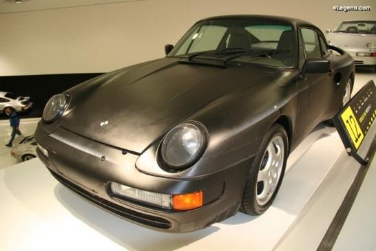 Porsche 965 Prototype L7 de 1988 – Un mulet à moteur V8 Audi