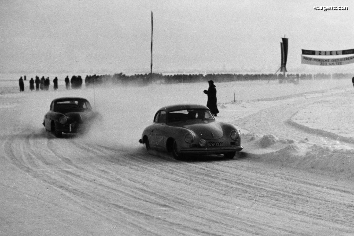 Porsche relance la course Ice Race à Zell am See, en Autriche