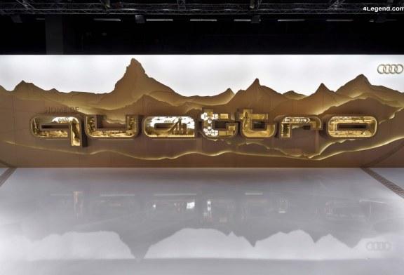 """Sculpture Audi """"Home of quattro"""" de Tim John pour le Design Miami / Basel 2013"""