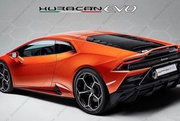 Lamborghini Huracán Evo – Voici les premières photos de l'Huracán restylée