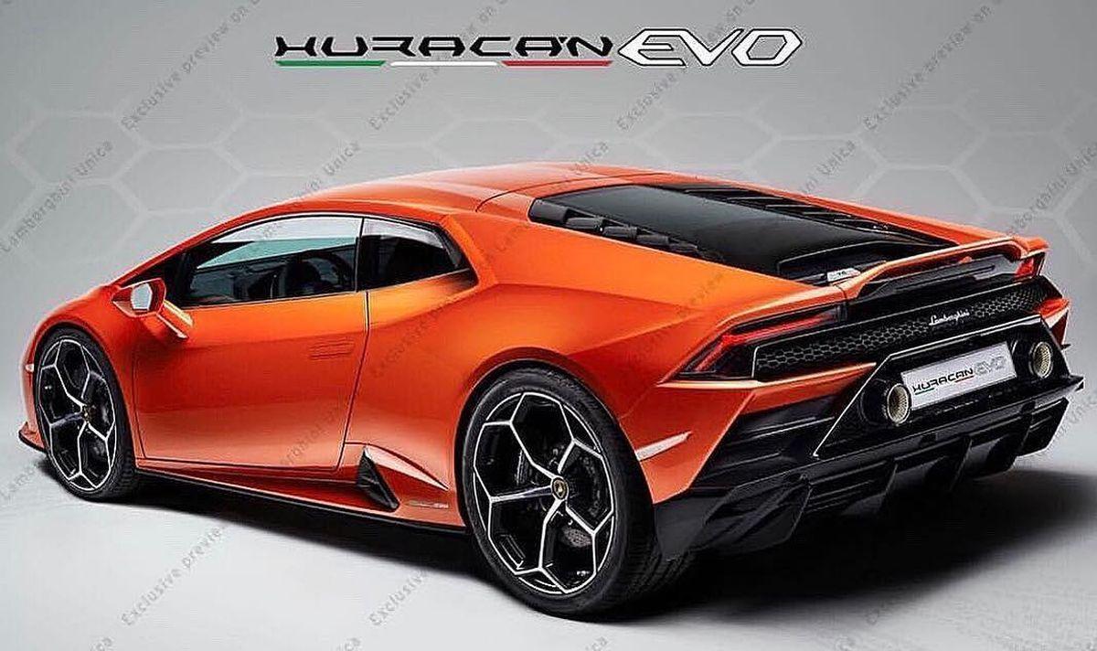 Lamborghini Huracán Evo - Voici les premières photos de l'Huracán restylée