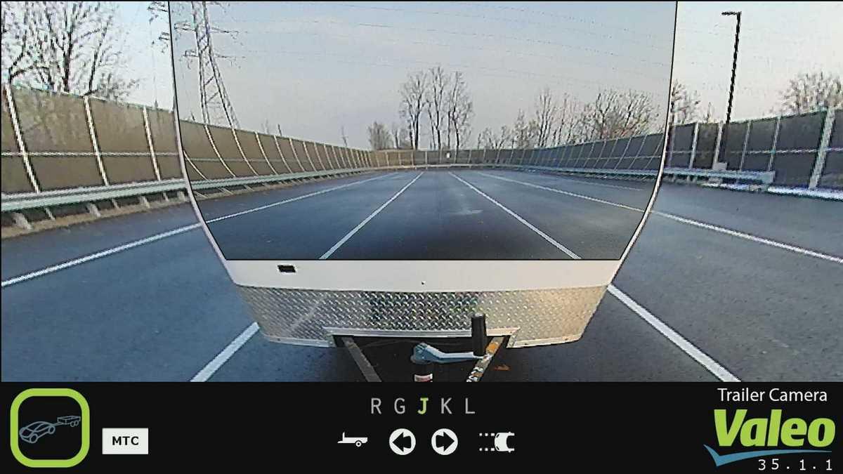 Valeo XtraVue Trailer - Un système innovant de vision pour remorque