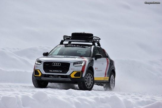 Audi Driving Experience Megève