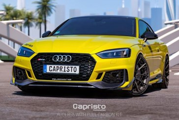 Capristo rend l'Audi RS 5 Coupé plus agressive via un kit carrosserie
