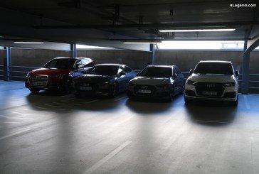 Baisse des ventes d'Audi de 3,5% en 2018 – 1 812 500 véhicules livrés