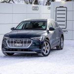 Flotte de 50 Audi e-tron pour le Forum économique mondial de Davos