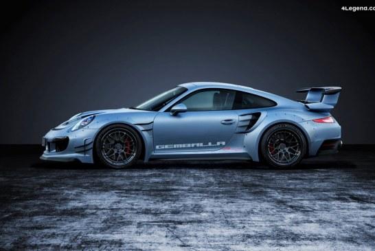 Gemballa GTR 8XX EVO-R sur base de Porsche 991 Turbo & 911 Turbo S