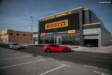 Ouverture d'un quatrième Pirelli P Zero World à Dubaï